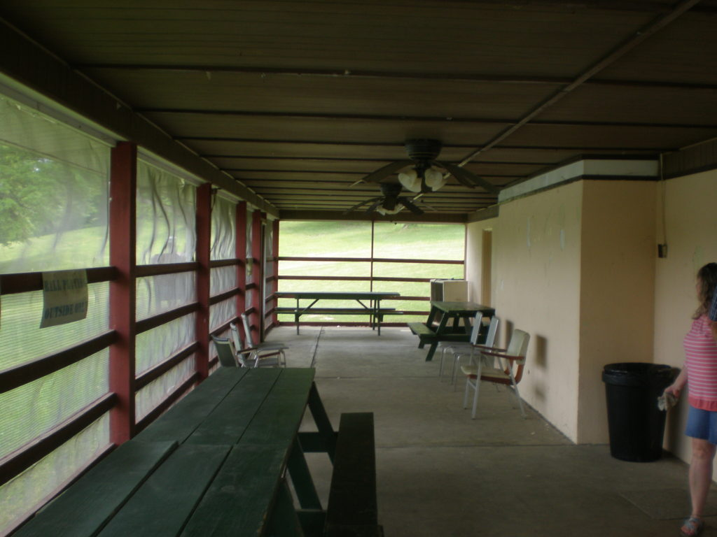 Club House Screened Room