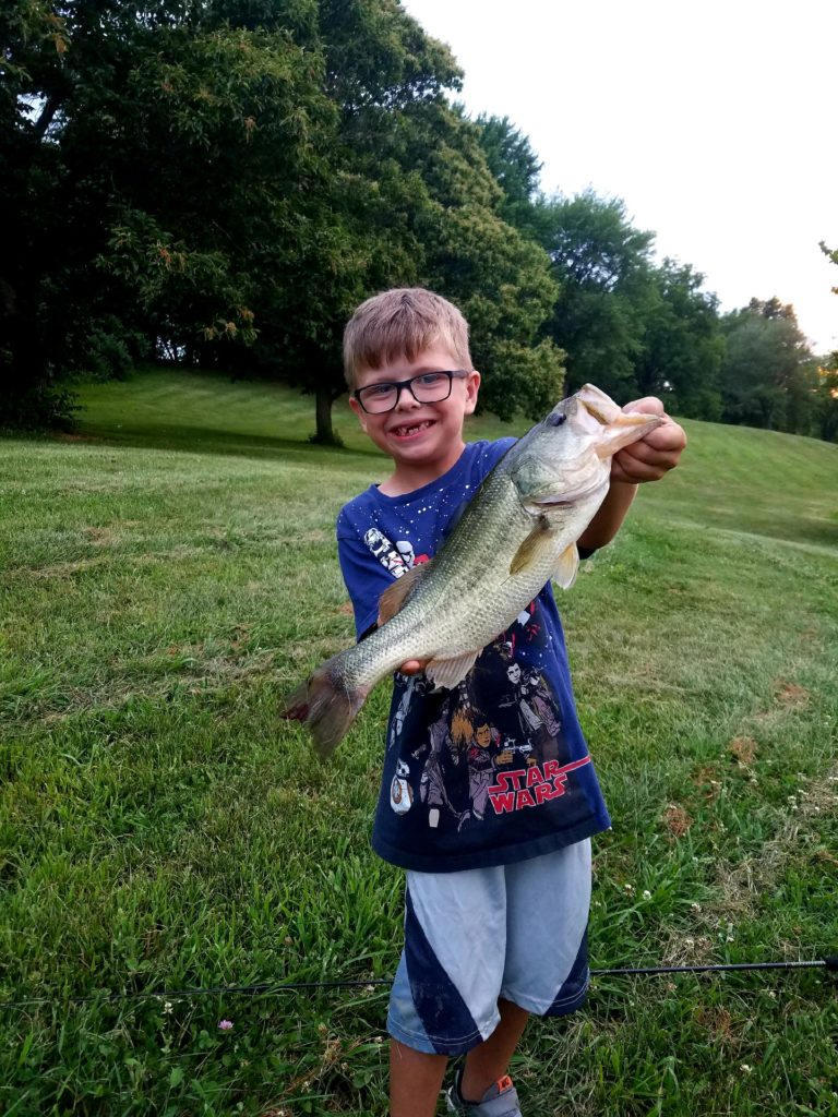 Benjaman Horn Big Mouth Bass 2 lbs +